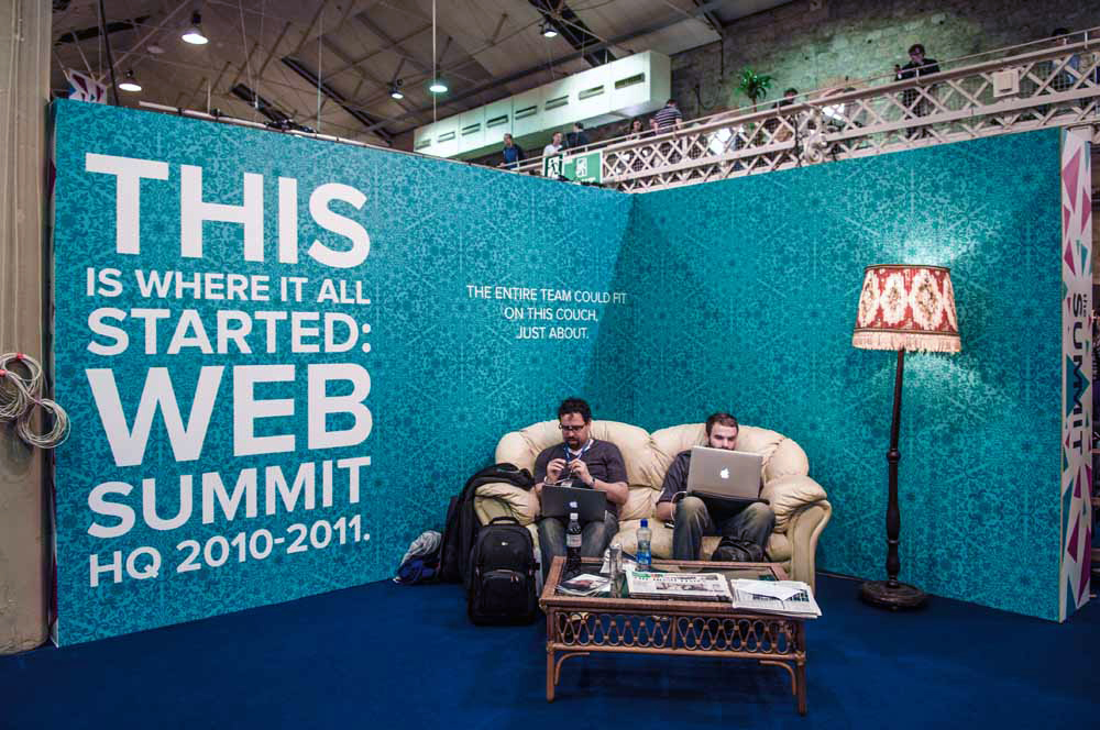 Conference Photographer at The Web Summit in The RDS in Dublin
