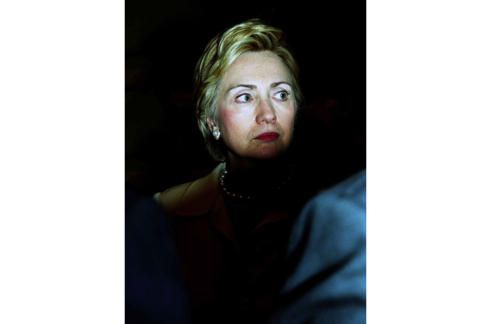Editorial-Portrait-Photographer Deirdre Brennan photographs Hillary Clinton