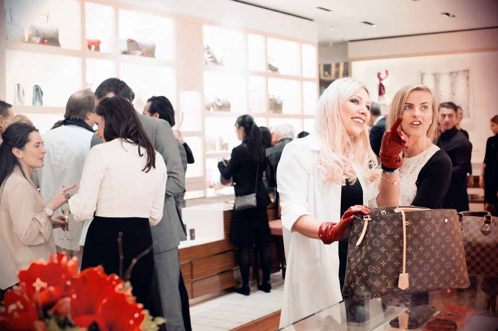 Louis Vuitton Christmas Party Event Photography