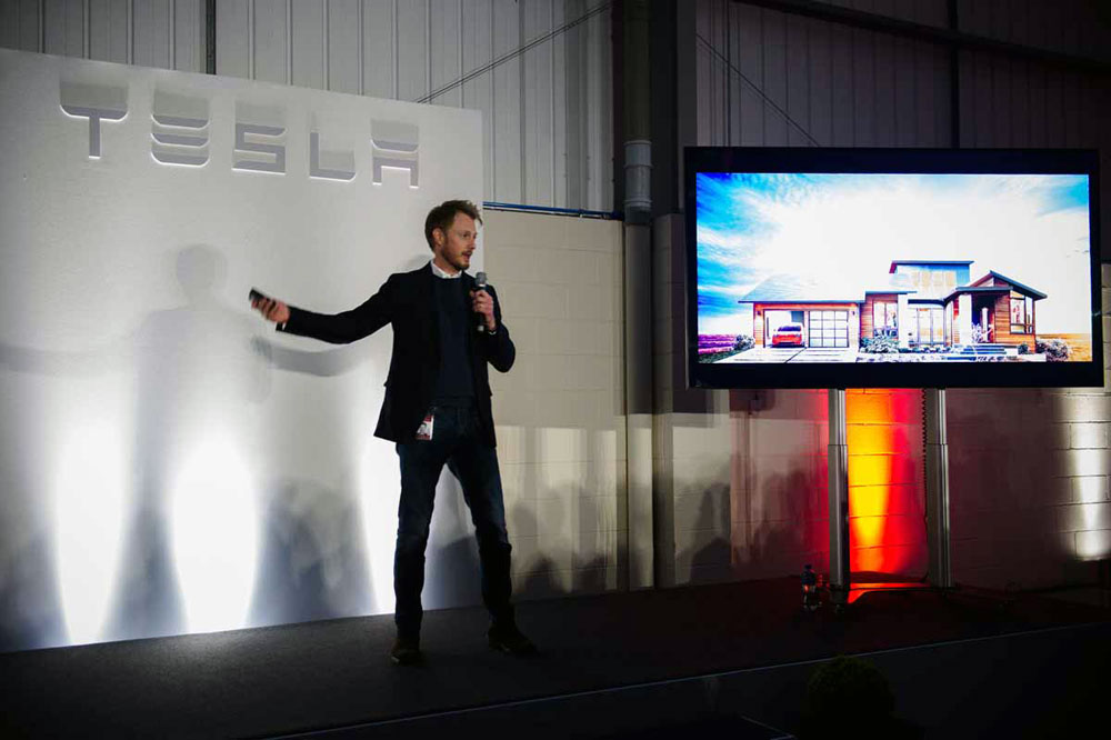 TESLA Motors Launch in Dublin