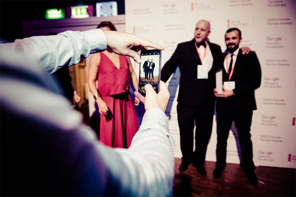 Google Premier Partner Awards Ceremony