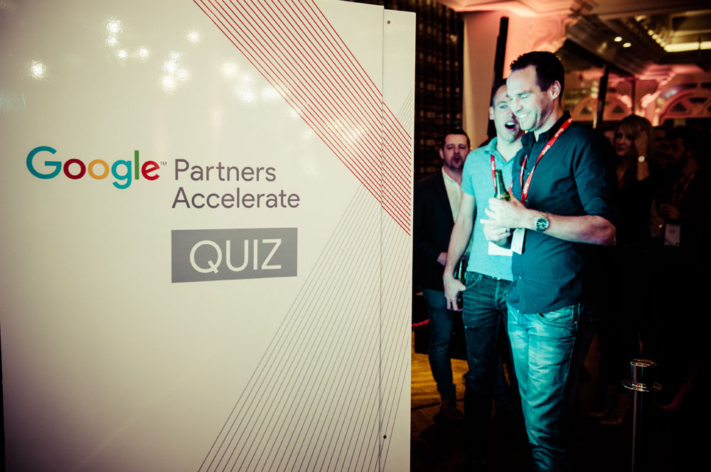 Google Premier Partner Awards Welcome Reception
