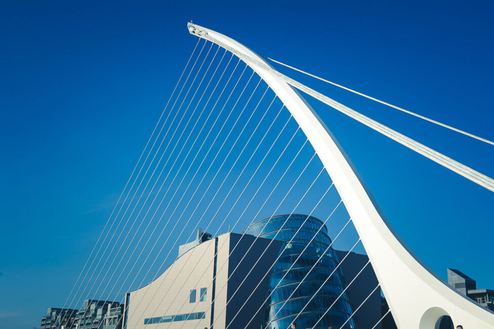 The Samuel Beckett Bridge Dublin Architectural Photography