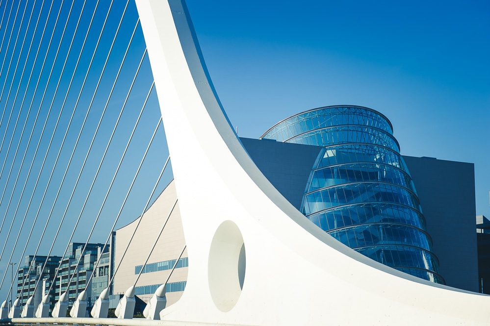 The Samuel Beckett Bridge for Amoss