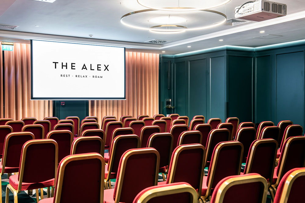 The Alex Hotel Interiors Photography