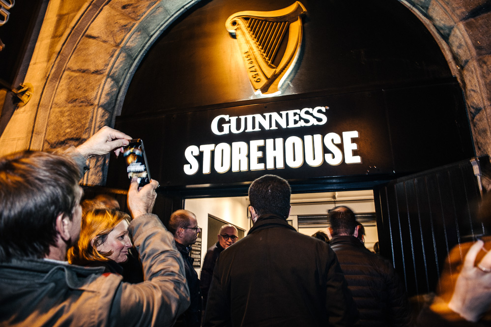 Corporate event at the Guinness Storehouse in Dublin