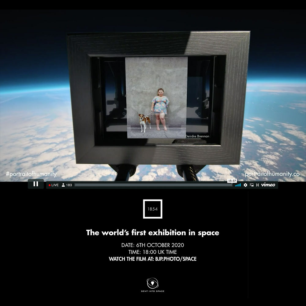 Portrait of Humanity in Outer Space